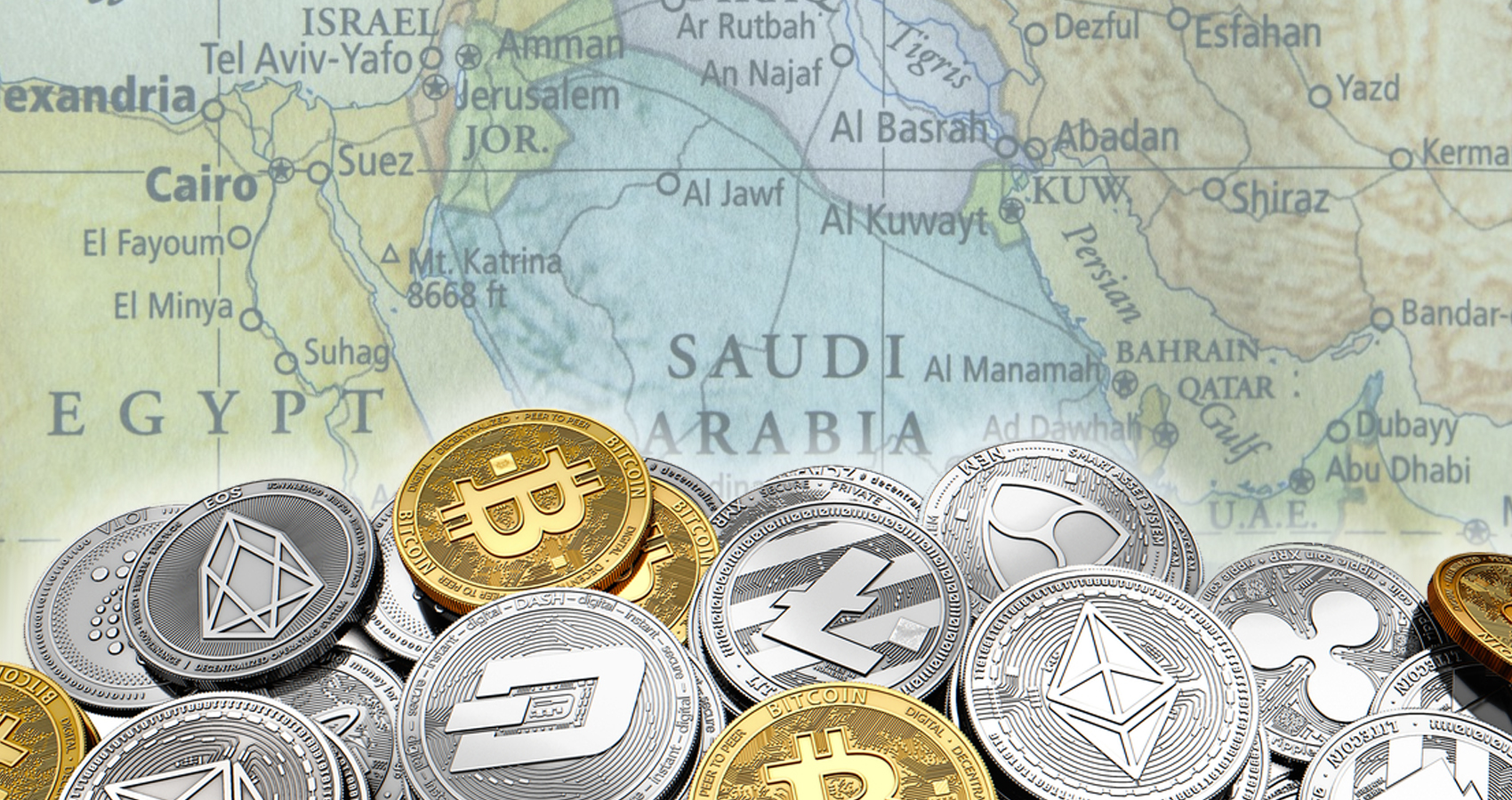 Middle East cryptocurrency market